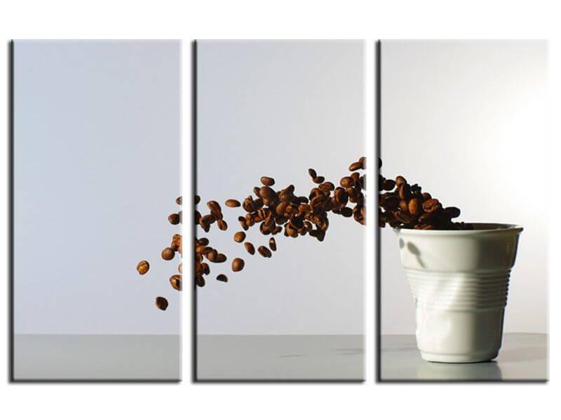 Tableau deco cuisine caf moderne d coration murale hexoa - Tableau en verre pour cuisine ...