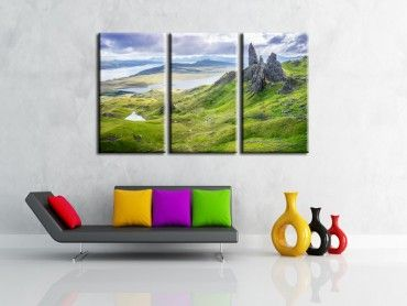 Tableau photo de paysage Old Man of Storr
