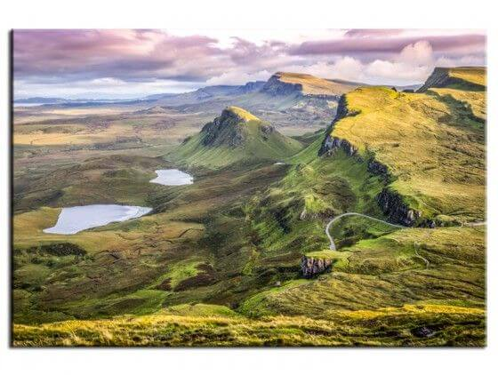 Tableau photo de paysage Quiraing Sunset