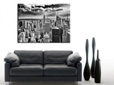 Tableau déco noir et blanc New York