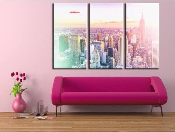 Tableau New York Pastel