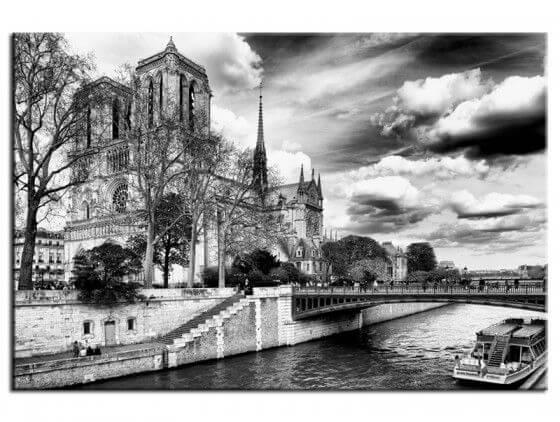 Tableau deco Notre Dame de Paris