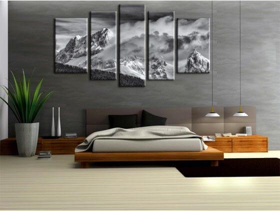 tableau paysage jarjatte sur toile alu plexi d co murale hexoa. Black Bedroom Furniture Sets. Home Design Ideas