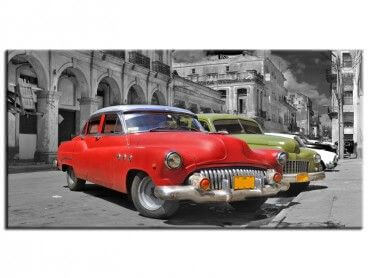 Tableau deco Colorful Havana cars