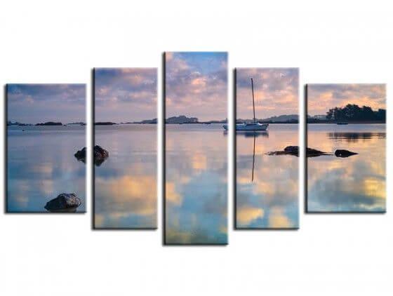 Tableau photo déco la baie Saint-Anne