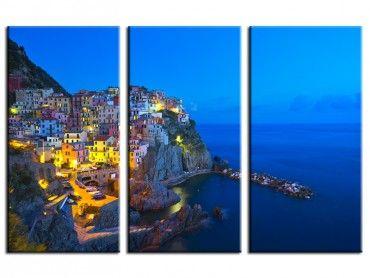 Tableau photo paysage les Cinq Terre Italie