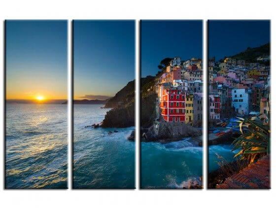 Tableau paysage Cinq Terre en Italie