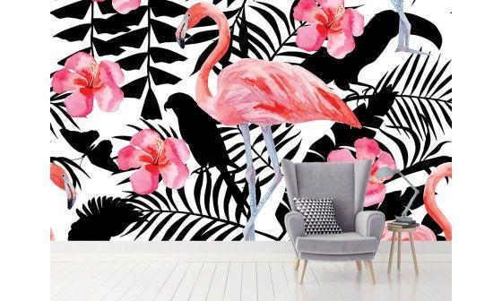 d coration murale tropicale chic et tendance prix bas. Black Bedroom Furniture Sets. Home Design Ideas