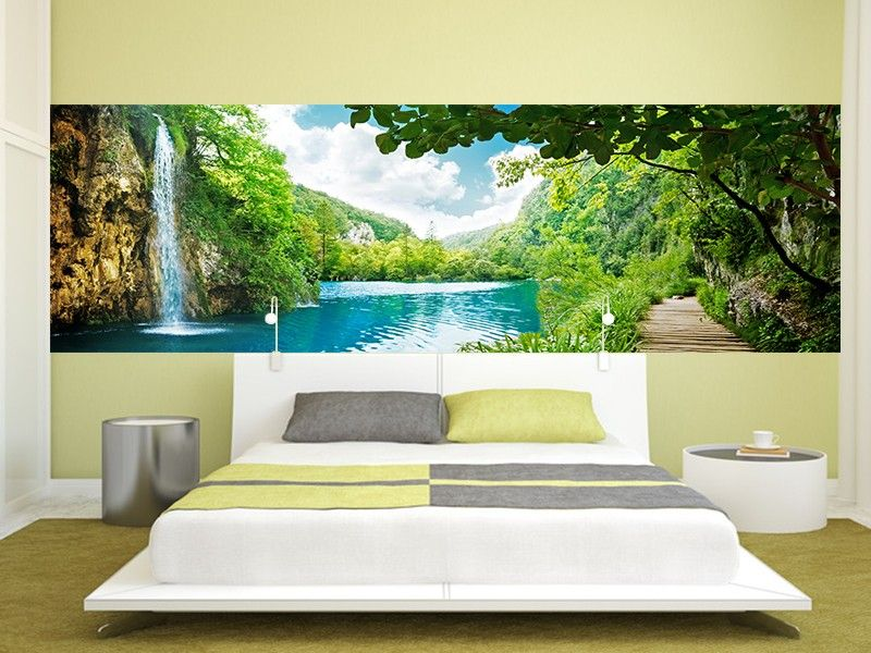 poster mural trompe oeil top poster mural pas cher acheter papier peint xcm ponton pas with. Black Bedroom Furniture Sets. Home Design Ideas