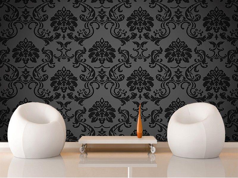 papier peint noir baroque good sombre baroque vecteur. Black Bedroom Furniture Sets. Home Design Ideas