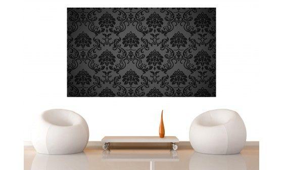 papier peint baroque noir panoramique en vente prix bas. Black Bedroom Furniture Sets. Home Design Ideas