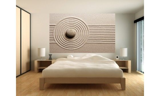 poster xxl jardin zen pas cher intiss et adh sif. Black Bedroom Furniture Sets. Home Design Ideas