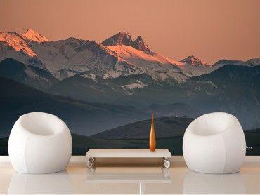 Papier peint montagne Pic du Midi d'Ossau