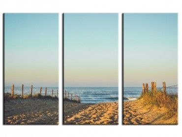 Tableau photo deco plage Hossegor