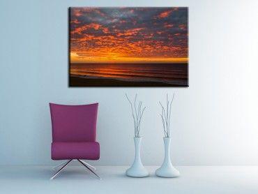Tableau photo paysage mer le Penon Seignosse