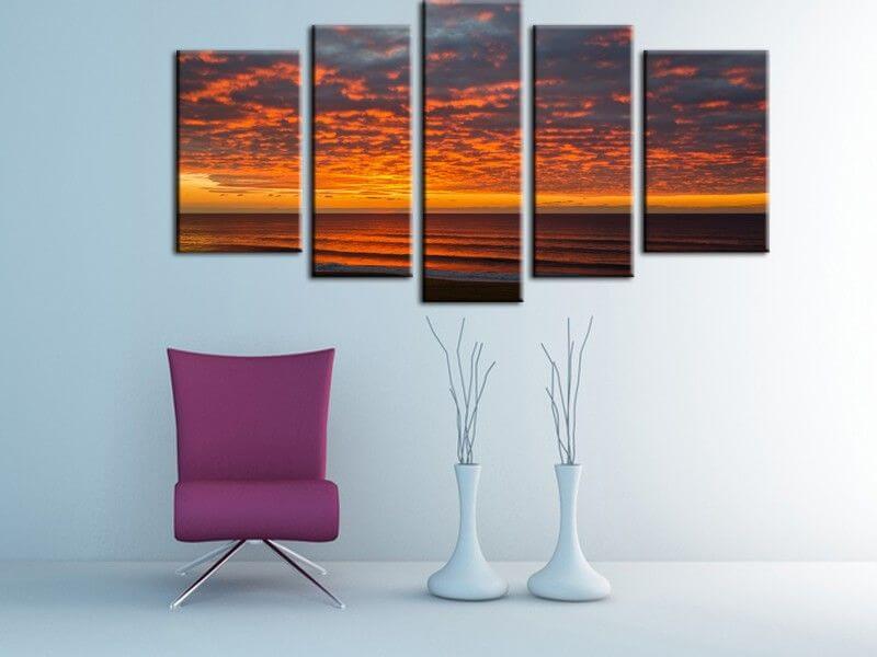 Grande toile photographique artwork paysage A1