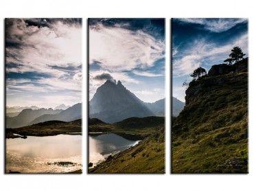 Tableau photo paysage vallée d'Ossau