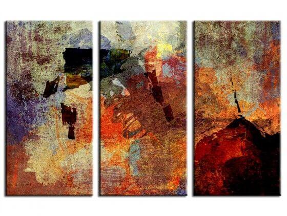 Tableau abstrait moderne Fall
