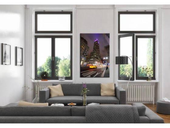 Tableau photo de New York Empire States Building