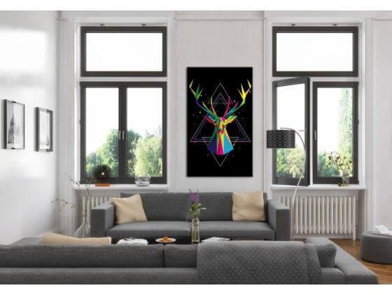 Tableau Contemporain à prix bas - Décoration murale Design - Hexoa