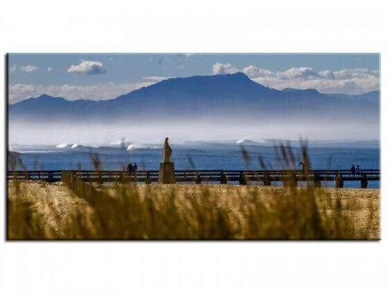 Tableau photo paysage vue d'Hossegor