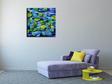 tableau abstrait d coration moderne art abstrait hexoa. Black Bedroom Furniture Sets. Home Design Ideas