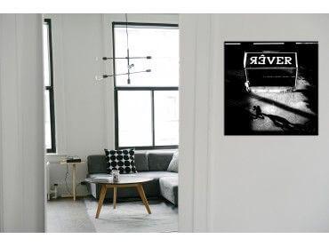 Tableau deco noir et blanc rêver