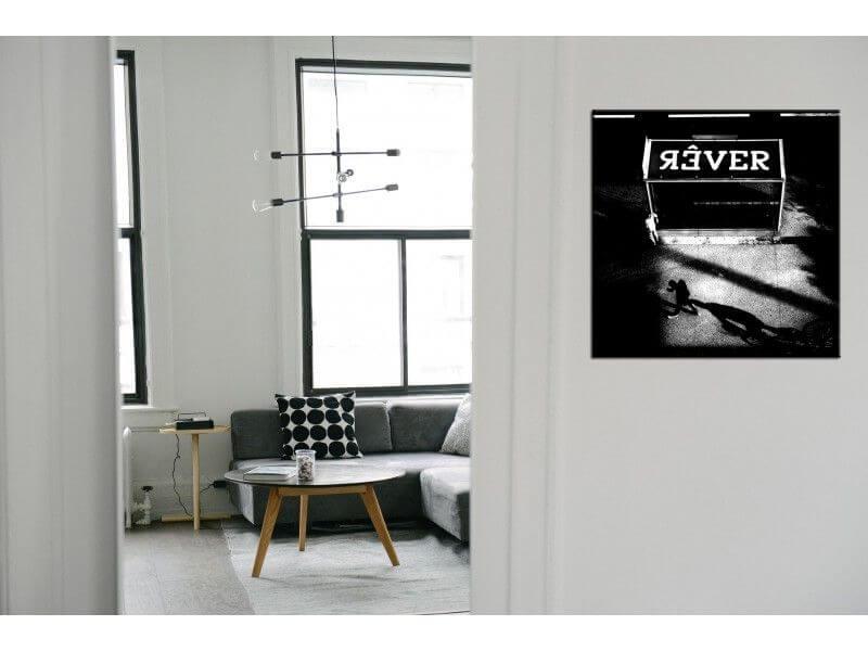 tableau noir et blanc r ver petit prix d coration murale. Black Bedroom Furniture Sets. Home Design Ideas