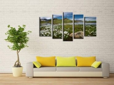 Tableau photo paysage Lac des Estaris