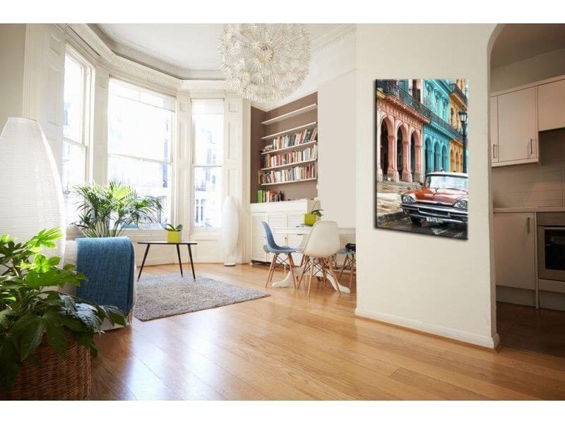 tableau photo de paysage cuba achat tableau deco pas cher. Black Bedroom Furniture Sets. Home Design Ideas
