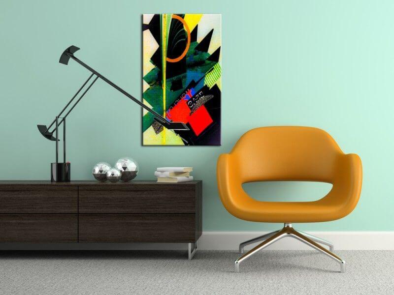 tableau contemporain collages boutique hexoa. Black Bedroom Furniture Sets. Home Design Ideas