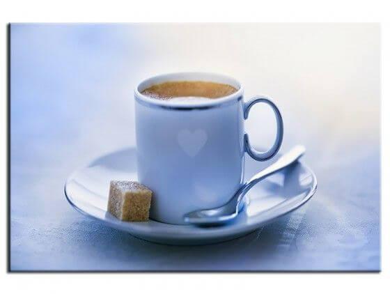Tableau cuisine le café est prêt