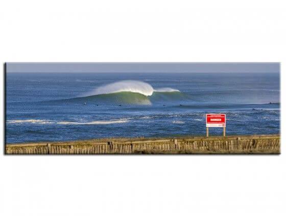 Tableau surf session à Hossegor