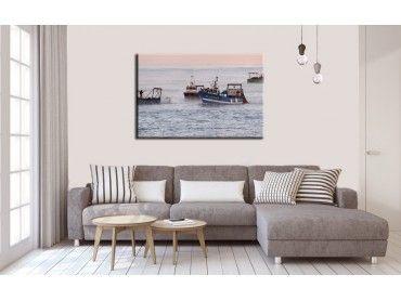 Tableau photo bateaux de pécheurs Lafitenia
