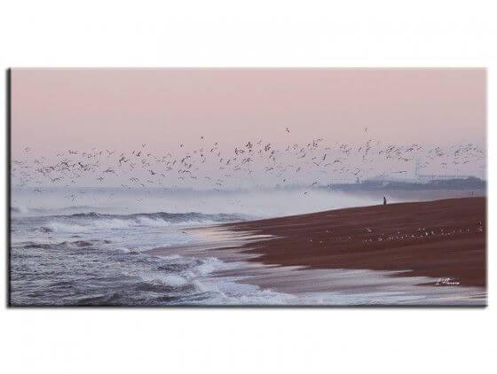 Tableau de paysage plage Anglet