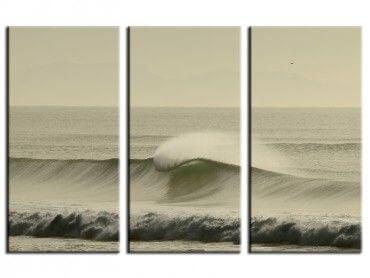 Tableau surf océan Messanges