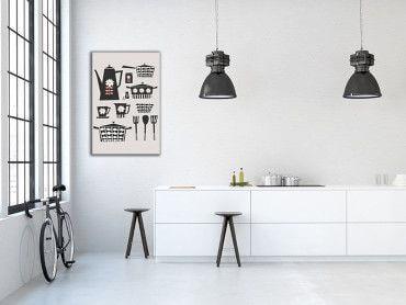 Tableau rétro kitchen set