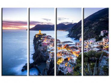 Tableau photo paysage Vernazza Italie