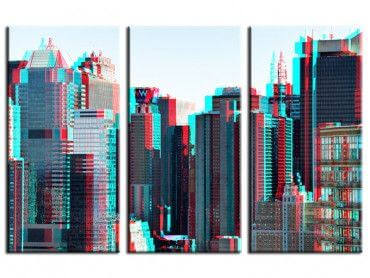 Tableau New York architecture double effet