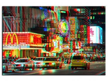 Tableau New York time square vibrations