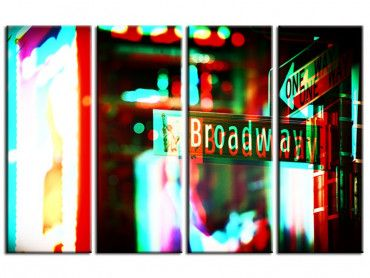 Tableau deco New York Broadway