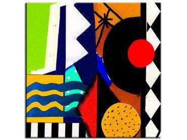 Tableau art abstrait Oasis 2