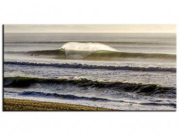 Tableau contemporain session surf