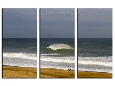 Tableau photo surf l'attente