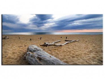 Tableau paysage plage Ondres