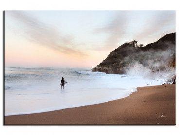 Tableau deco sur la plage Lafitenia