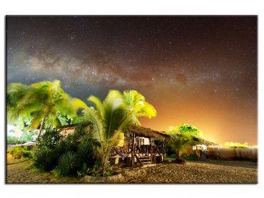 Tableau décoratif sous le ciel étoilé de Zanzibar