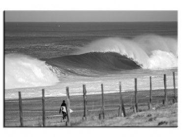 Tableau surf plage landaise