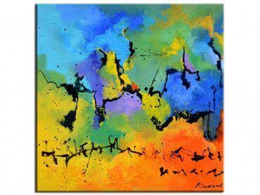 Tableau Abstrait - Décoration moderne Art Abstrait - Hexoa