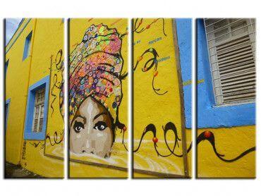 Tableau street art Olinda querida